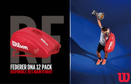 sac de tennis federer wilson dna