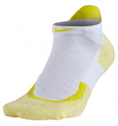 Chaussettes x1 tennis Elite Low (blanc-jaune)