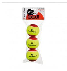 Sachet 3 balles Tecnifibre My New Ball