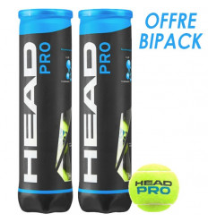 Tube 4 balles Head Pro offre bipack