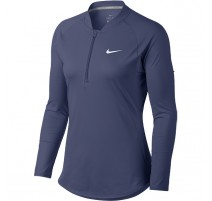 Tee-shirt NikeCourt Pure Top Wmn. (bleu lavande)