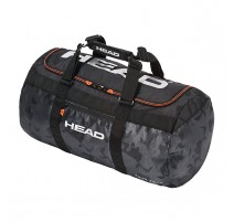 Sac de tennis Head Tour Team Club Bag (noir-gris-orange)