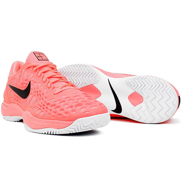 f2afdc119f0 Tennis Zoom Corail Chaussure rose 3 Homme Nike Noir Cage P01qwH