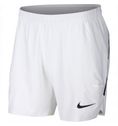 Short NikeCourt Flex Ace 7 (blanc-noir)