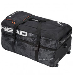 Sac à roulettes Head Travel Bag Tour Team (noir-orange)