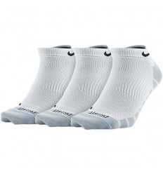 Nike Chaussettes x3 Dry basses (blanc-gris)