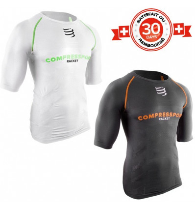 Tee-shirt Compression Short Sleeve Top