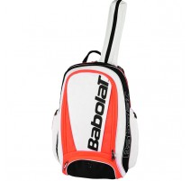 Pure Sac à dos tennis Babolat Backpack (blanc-rouge fluo)
