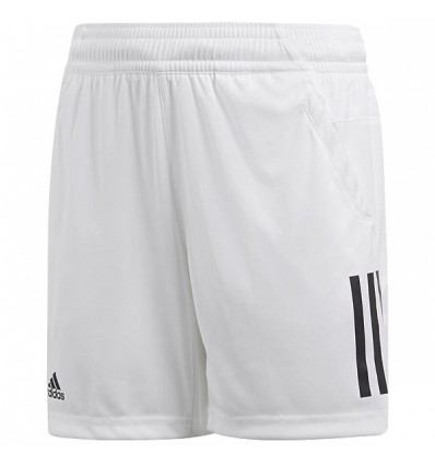 Short Blanc Junior 3 Club Bandes Tennis Adidas gYbfvy76