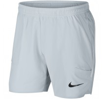 Short NikeCourt Flex Ace 7 (gris-noir)