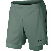 Short NikeCourt Flex Ace Pro 7 (kaki-noir)