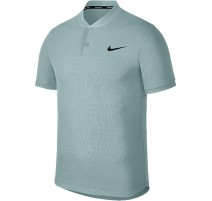 Polo Advantage Solid NikeCourt (gris-vert)