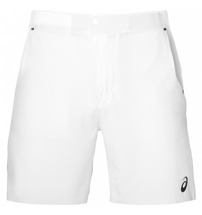 Short de tennis Asics Athlete (blanc)