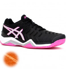 Asics Gel Resolution 7 Clay Lady (noir-fushia)