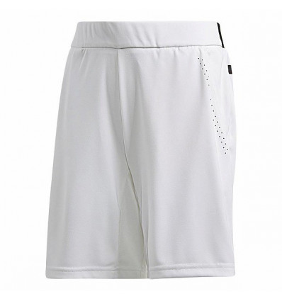 Short Adidas Barricade junior (Bermuda) blanc