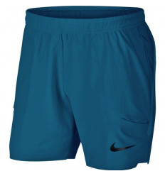 Short NikeCourt Flex Ace 7 (bleu)