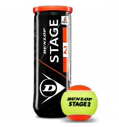 Balle mini tennis Dunlop Stage 2