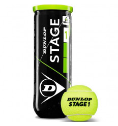 Tube 3 balles Dunlop Stage 1