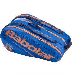 Roland Garros 12 Thermobag (bleu-orange)