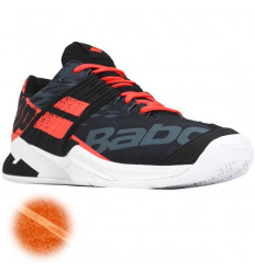 Propulse Fury Clay Babolat (noir-rouge fluo-blanc)