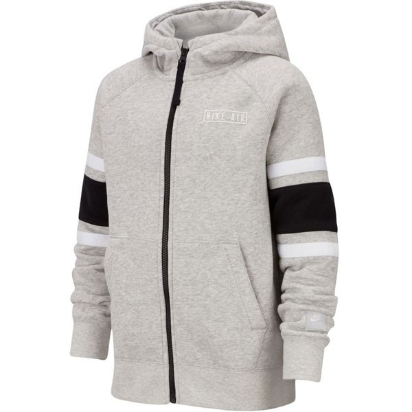 Sweat shirt enfant Nike Air Sweat capuche junior gris ou noir
