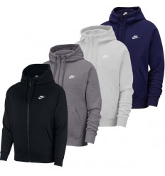 Sweat homme Nike Club Fleece FZ