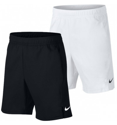 Short de tennis enfant Nike Court Dri Fit junior Blanc ou Noir