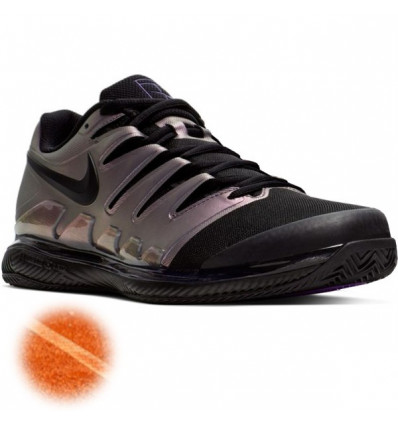 Nike Zoom Vapor 10 Clay Terre battue (noir brillant)