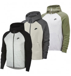Veste Nike Sportswear Tech Fleece (bicolore clair)
