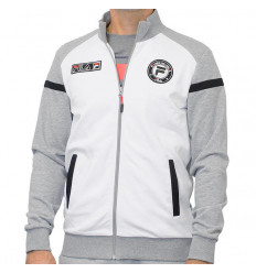 Sweat zippé Fila Smudo gris