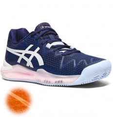 Asics Gel Resolution 8 femme terre battue