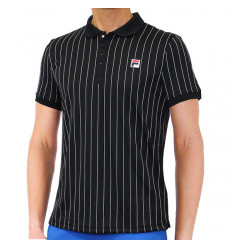 Polo Fila Borg Stripes noir