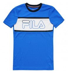 Tee-shirt enfant Fila Connor Junior bleu