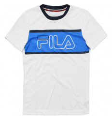Tee-shirt enfant Fila Connor Junior blanc