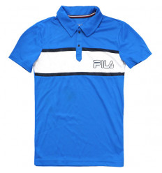 Polo enfant Fila bleu Junior
