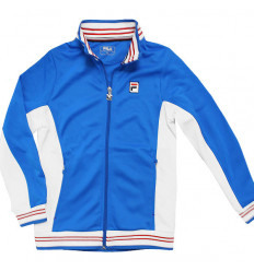 Veste tennis junior Fila bleu