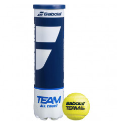 Tube 4 balles Babolat Team All Court