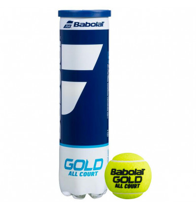 Balles tennis Babolat Gold All Court