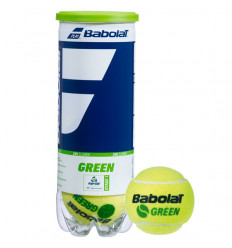Tube 3 balles Babolat Green Stage 1