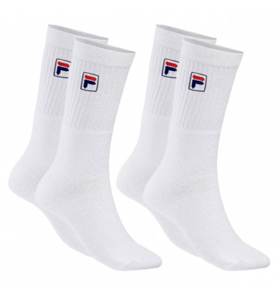 Chaussettes Fila pack 3 paires blanches