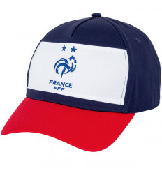 Casquette de Foot Supporter France Tricolore