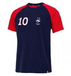 Tee-shirt de Foot FFF Player 10 Mbappe
