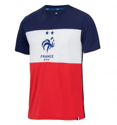 Tee-shirt de Foot Supporter France Tricolore
