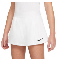 Jupe tennis fille Nike blanche