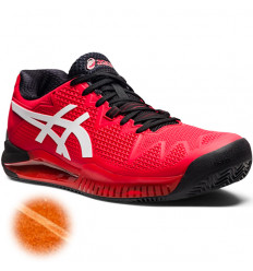 Asics Gel Resolution 8 Clay rouge