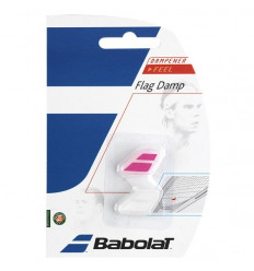 Flag Damp Antivibrateur (blanc-rose)