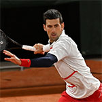 Head Novak Djokovic