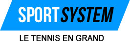 Cordage de tennis Still in Black X12 en garniture